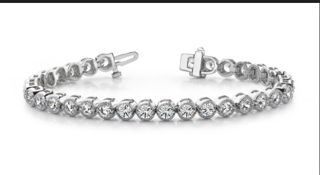 White Gold Jewelry, Buying Guide To Buy A Three Diamond Bracelet