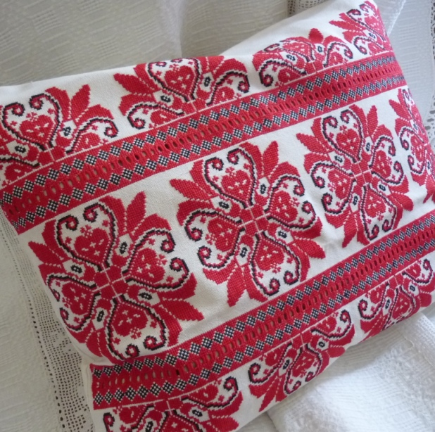 Cross Stitch Covers For The Cushion In Varied Colors